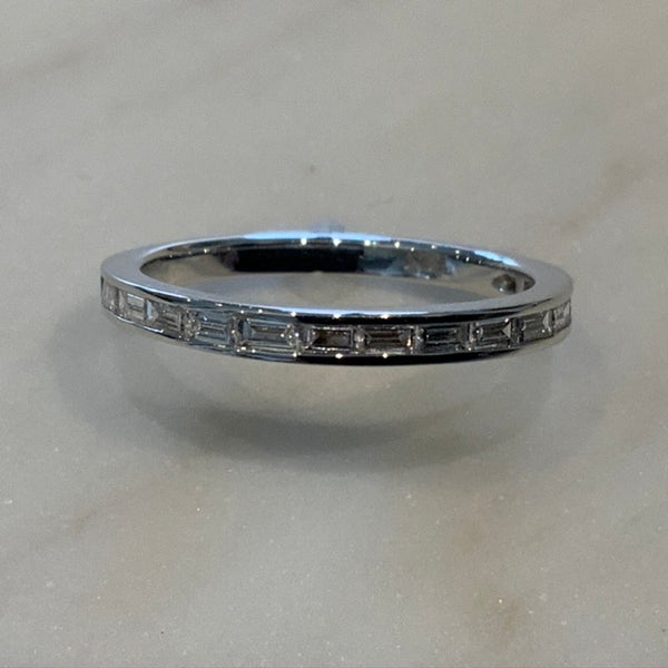 18ct Baguette Diamond Band