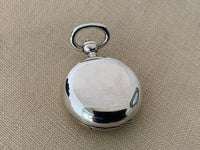 Antique Sterling Silver Sovereign Case