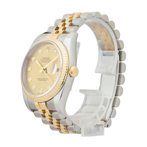 ROLEX DATEJUST 36 116233 TWO-TONE