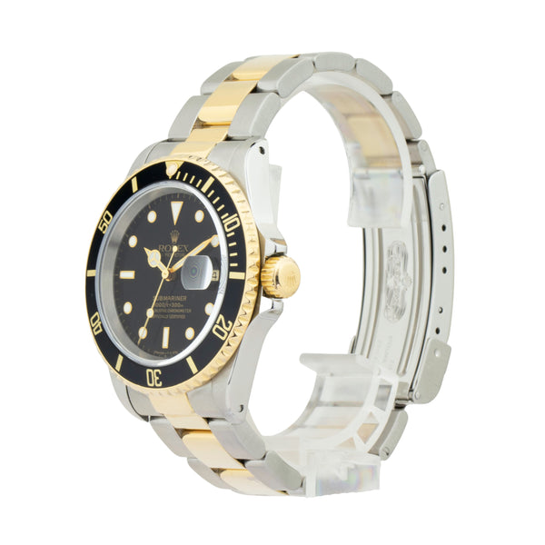 ROLEX SUBMARINER DATE 16613LN TWO-TONE