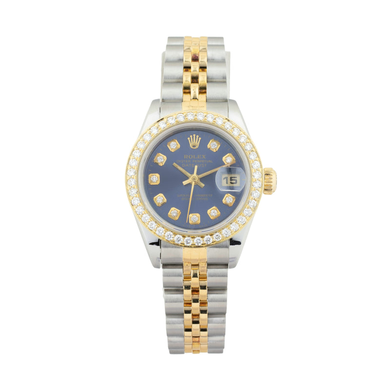 ROLEX LADY-DATEJUST 26MM 69173 TWO-TONE