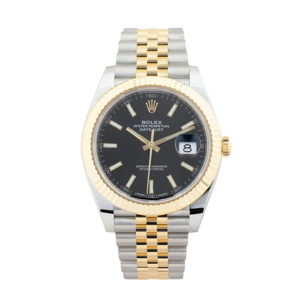 ROLEX DATEJUST 41 126333 TWO-TONE