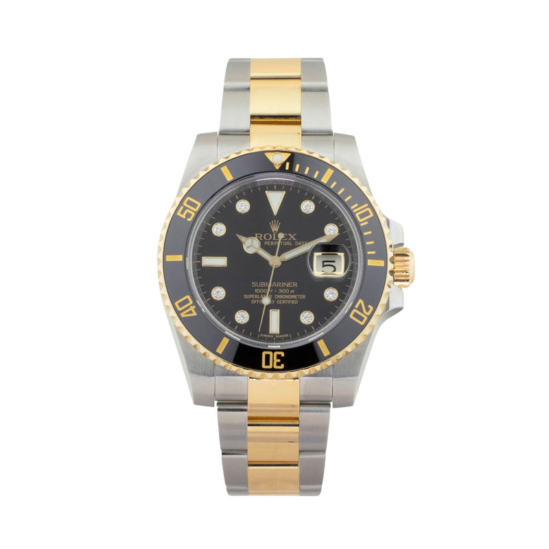 ROLEX SUBMARINER DATE 116613LN TWO-TONE