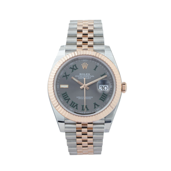 ROLEX DATEJUST 41 126331 TWO-TONE