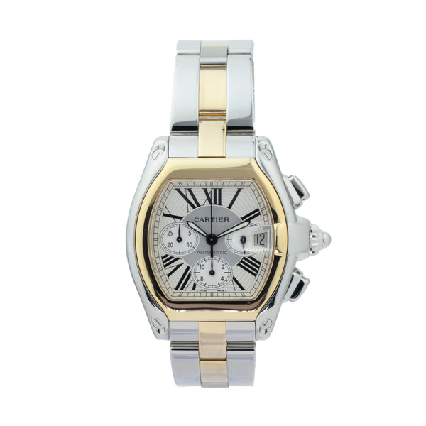 CARTIER ROADSTER CHRONOGRAPH W62027Z1