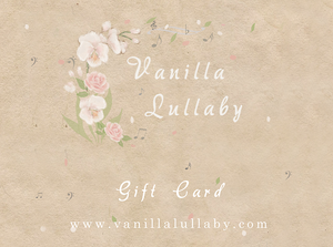 Vanilla Lullaby eGift card