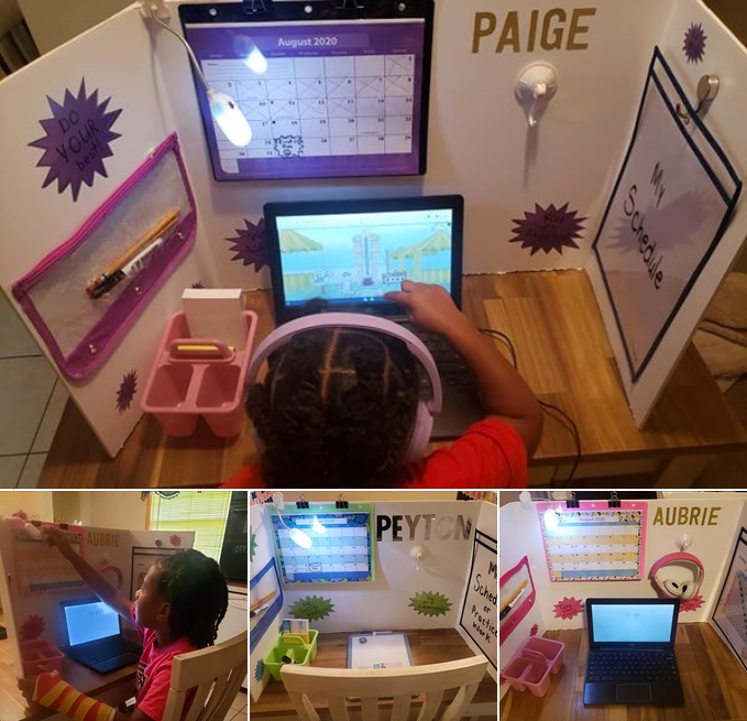 Personalized Stations for At-Home Learning