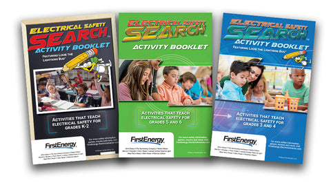 FirstEnergy safety education activity books