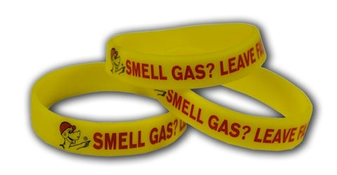 Glowing Sniffy Safety Awareness Bracelet With Logo (3332)