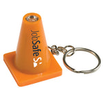 Orange Cone Light-Up Key Ring (4110)