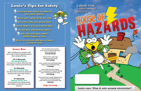 Louie's House of Hazards, pack of 100 (4250, 4252)