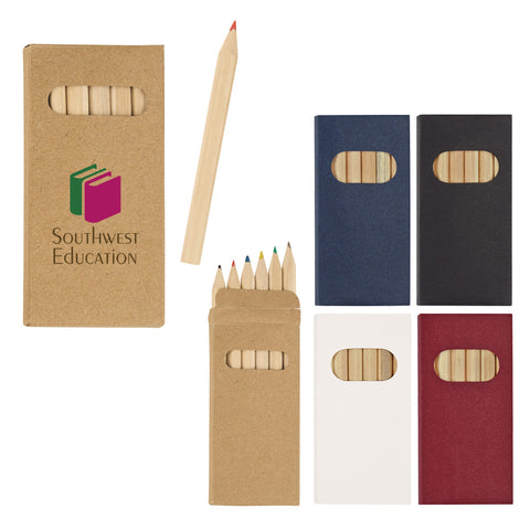 Colored Pencils, Set of 6 (6555)