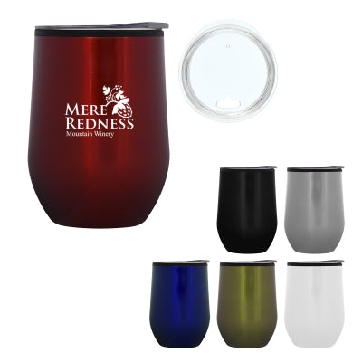 Stemless cup is unbreakable and perfect for wine or grape juice.