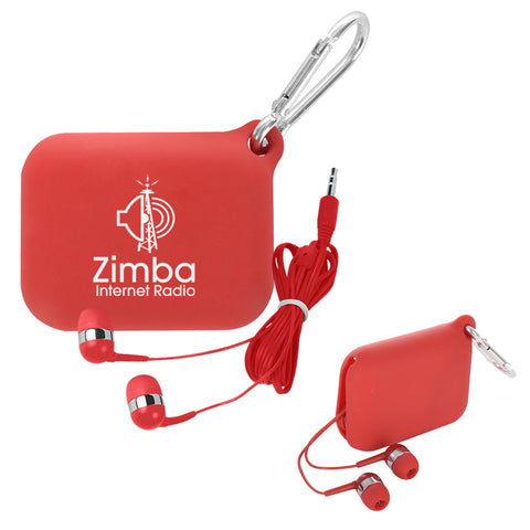 Backstage Earbuds and Tech Pouch (7430)