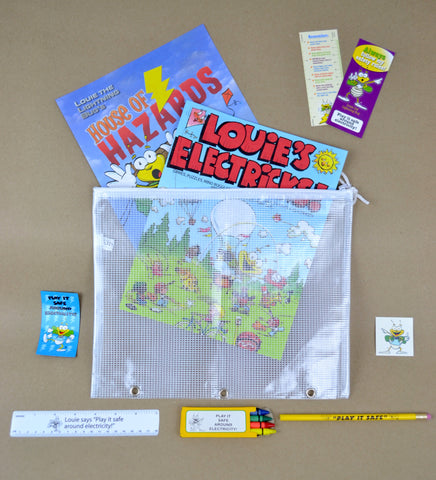 Stuffed Louie School Kits (7843)