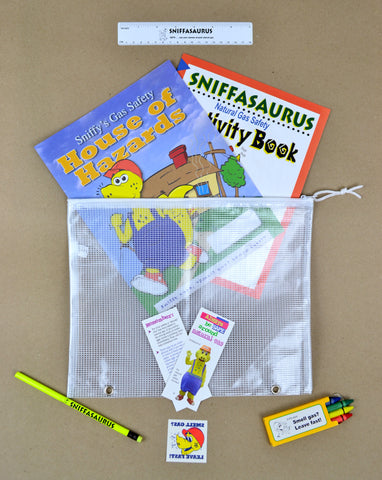 Stuffed Sniffy School Kits (7844)