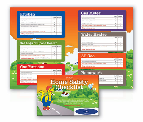 Natural Gas Safety Checklist With Logo (6940)