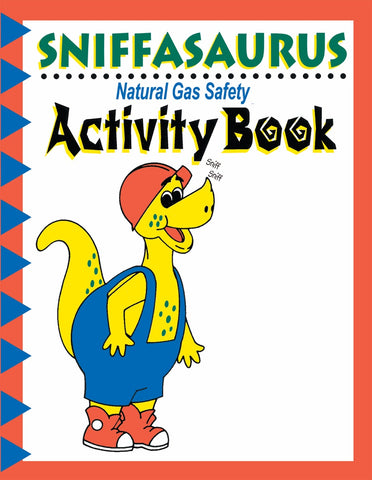 Sniffy Activity Books, Box of 250 (3030, 3031)