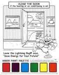 Louie Energy Efficiency Paint Sheet With Logo (3591)
