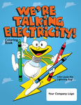 We're Talking Electricity Coloring Books - Case of 250 (3720, 3721)