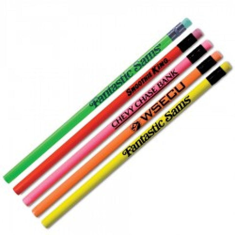 Custom Neon Pencils, pack of 100 (4340)