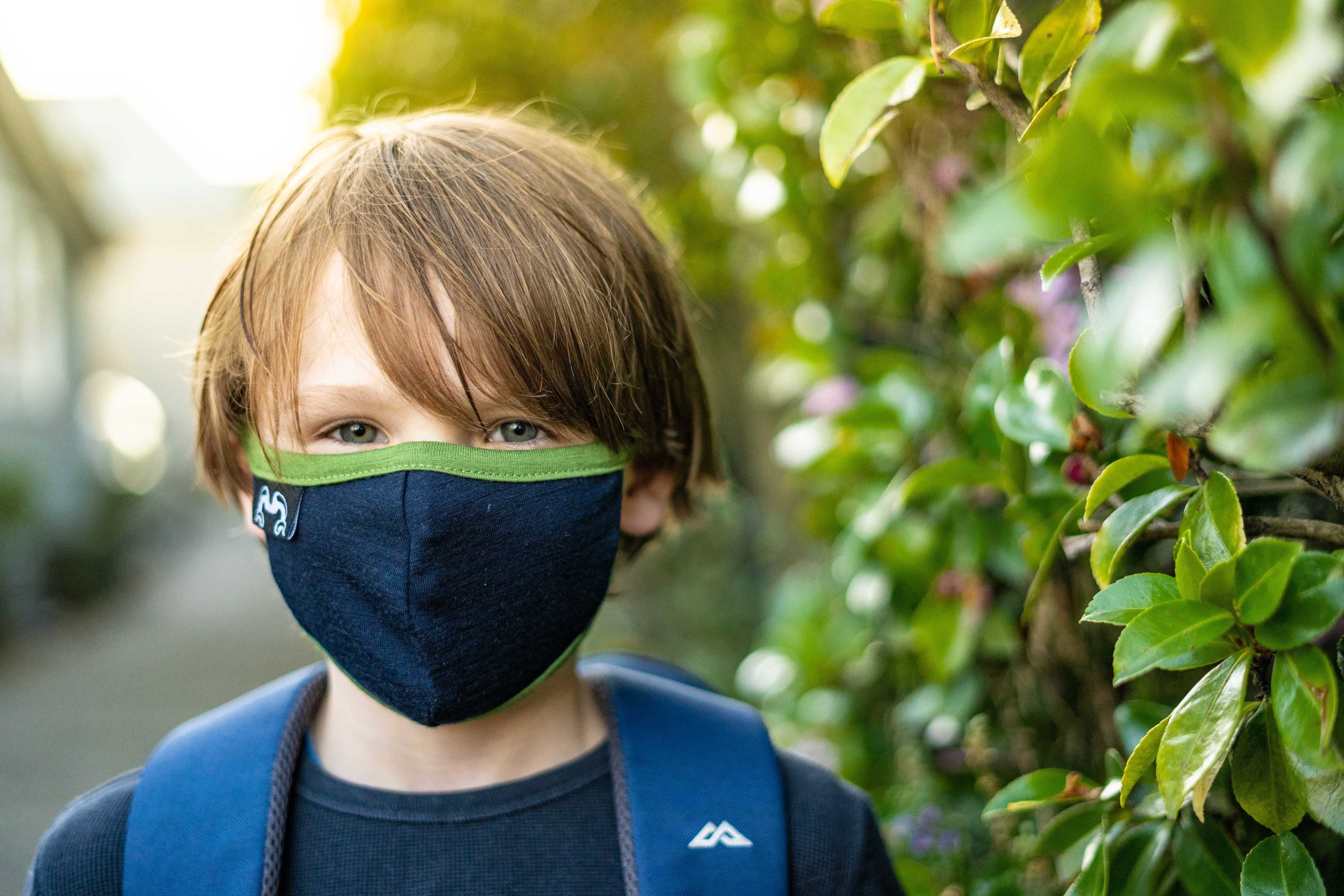 Youth Merino Wool Face Mask