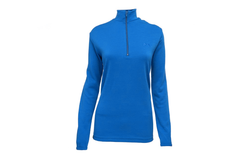 Women's merino wool 300 Coast Long Sleeve quarter zip pullover | True Fleece