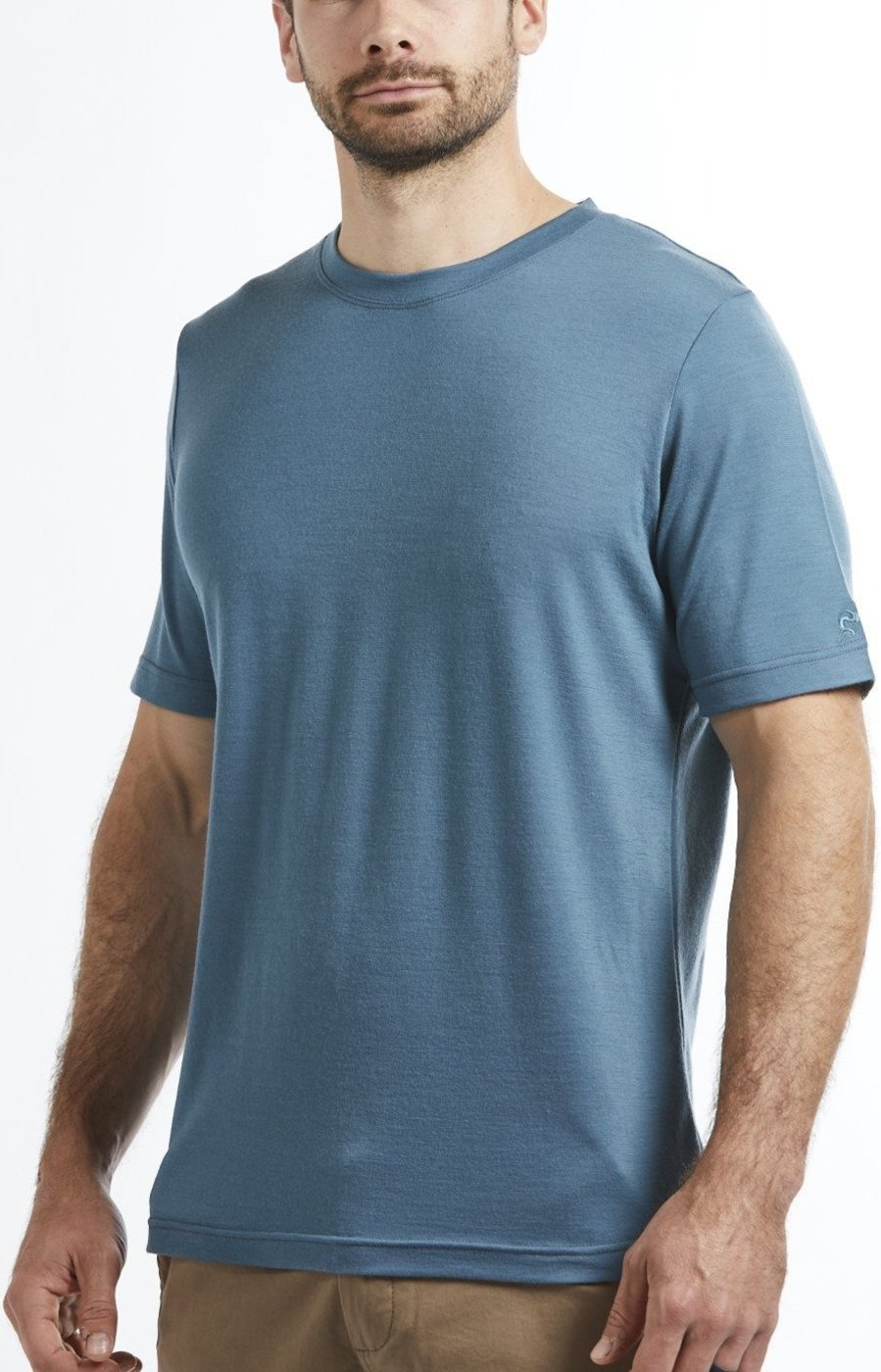 Men's Merino Wool T-shirt - Spruce
