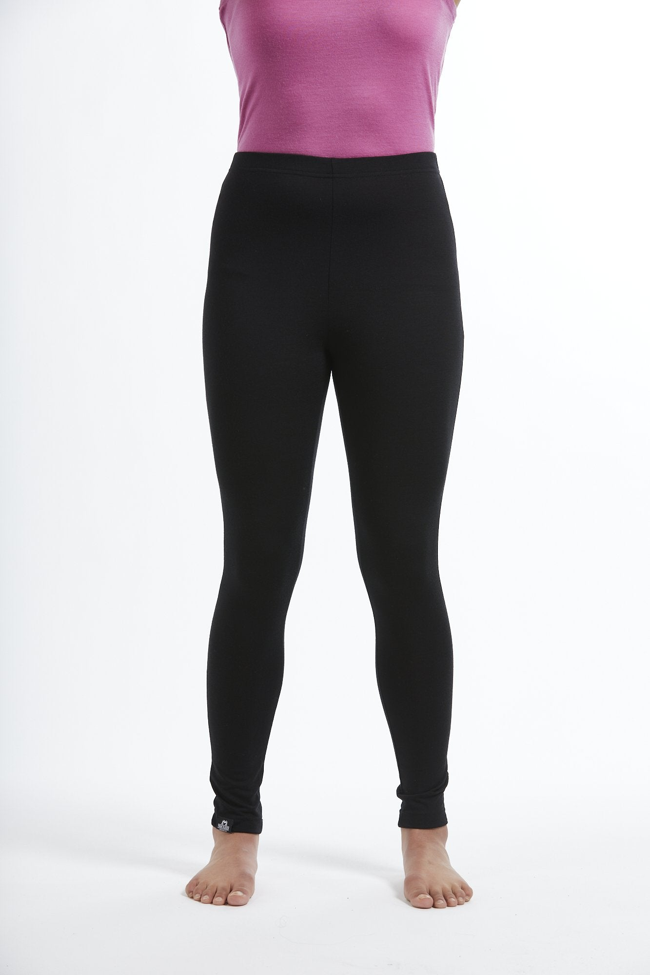 Womens merino wool thermal leggings