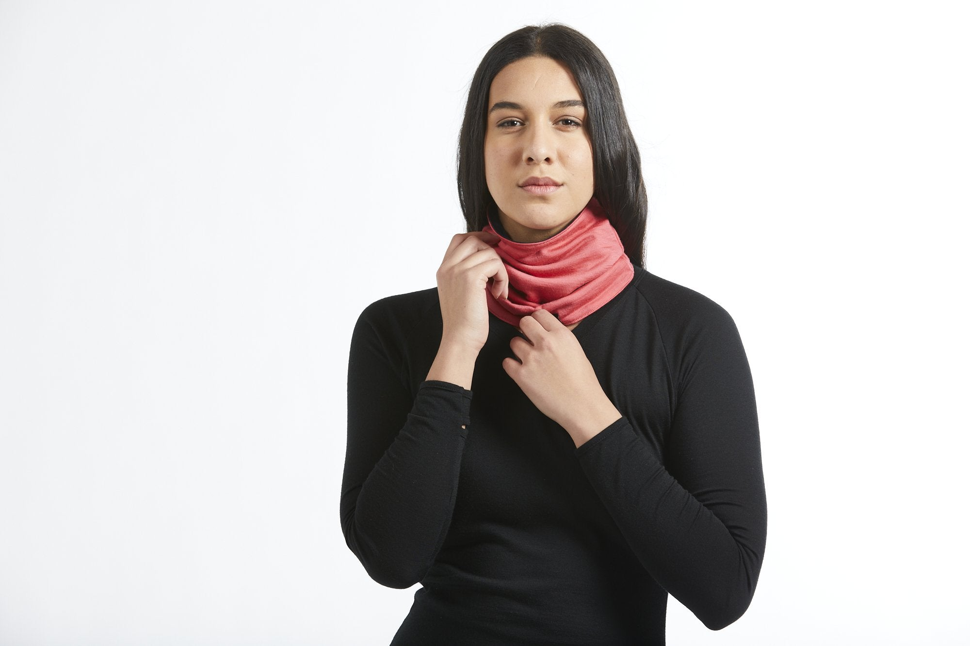 Unisex Merino Wool Neck Warmer Gaiter