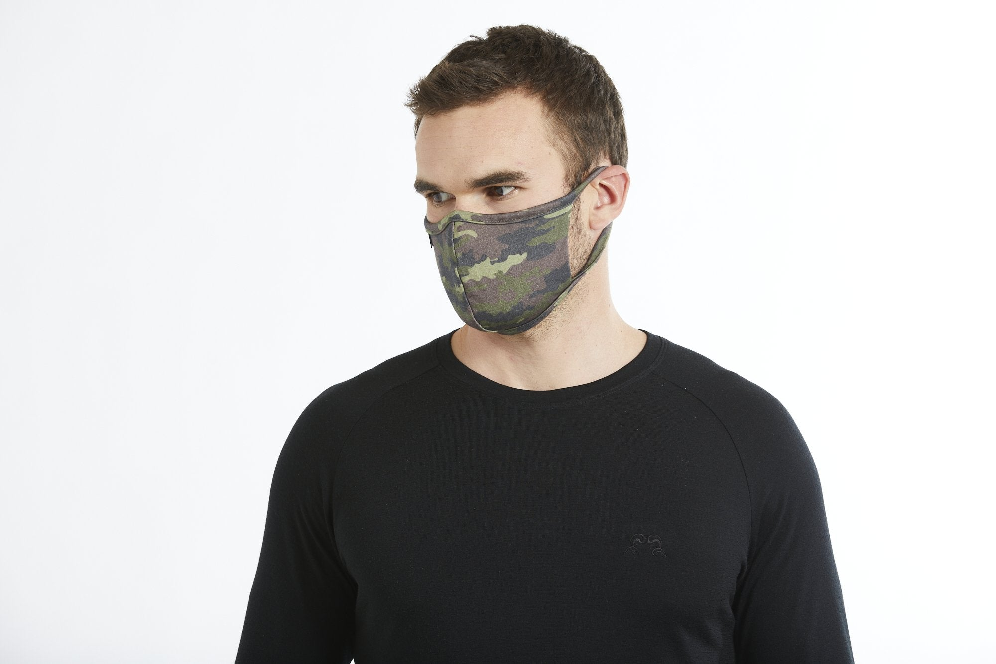 True Fleece Merino Wool Soft breathable face mask