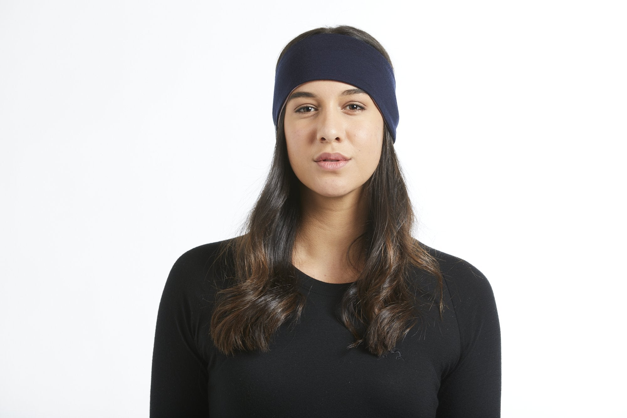 True Fleece merino wool head band