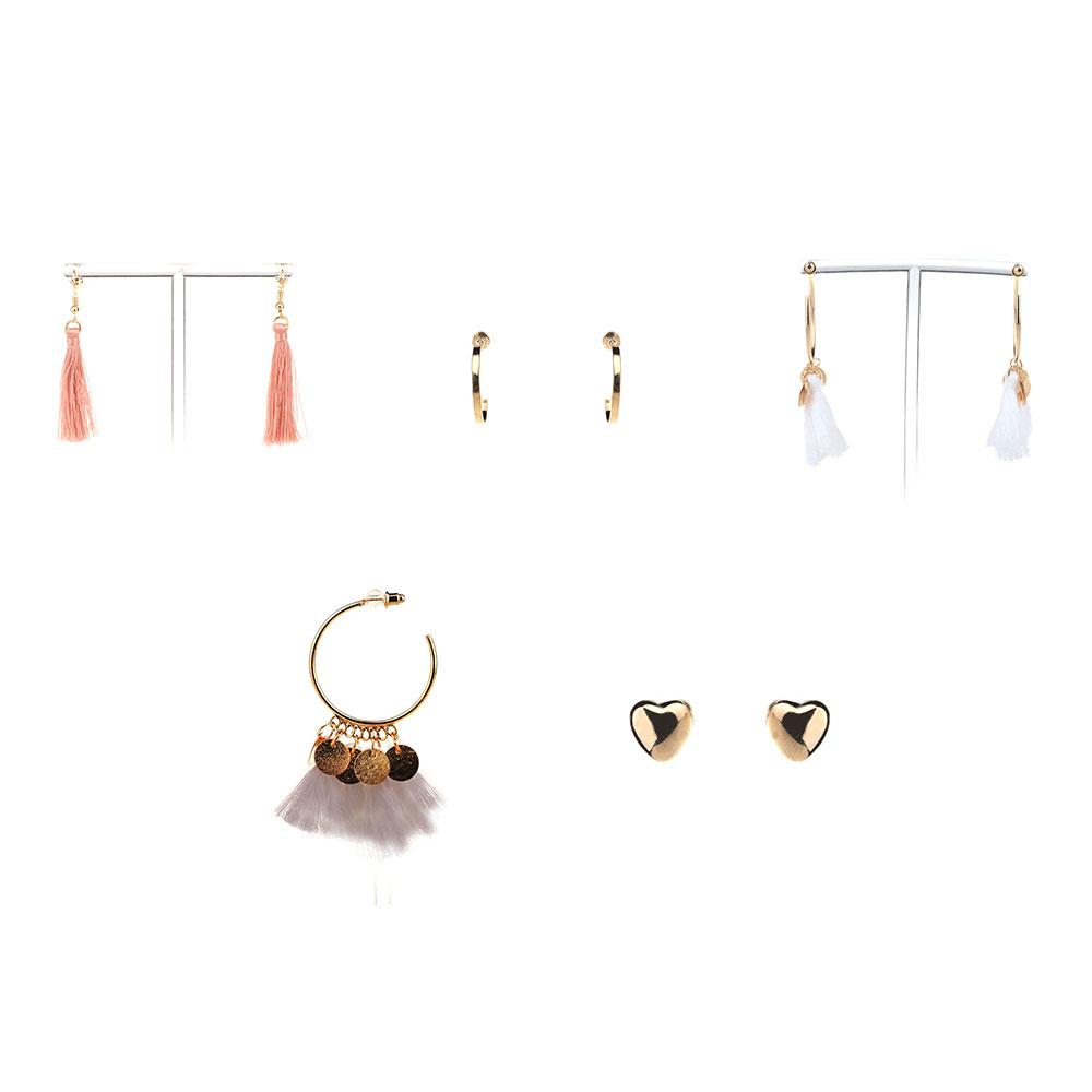 Classy and Posh Set of Ear Jewelries