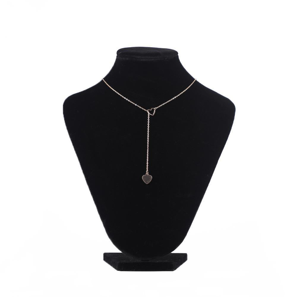 Collar Length Lariat Necklace