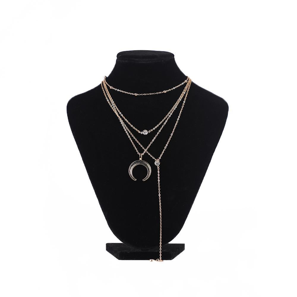 Charming Multi-Layered Lariat