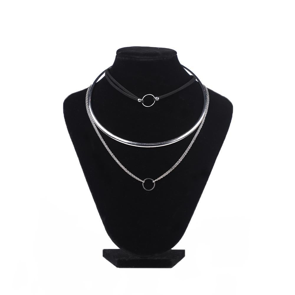 Enthralling Multi-Layered Necklace