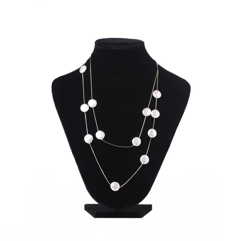 Two-Layered Matinee Necklace