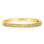 1/4 CT. T.W. Diamond Eternity Band in 14K Yellow Gold - LA DIAMOND