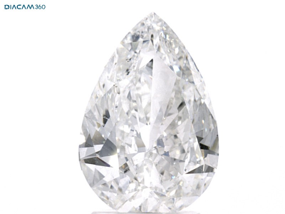 Pear Brilliant Diamond 2.3 CT F, SI1, With GIA Certificate - LA DIAMOND