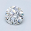 Round Brilliant Diamond 1.09 CT F, VS2, With GIA Certificate - LA DIAMOND