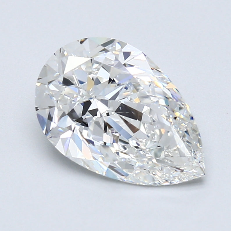 Pear Brilliant Diamond 2.3 CT F, VS2, With GIA Certificate - LA DIAMOND