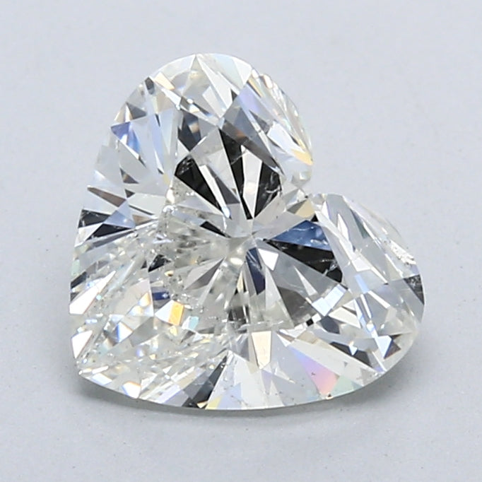Heart Brilliant Diamond 2.03 CT I, SI1, With GIA Certificate