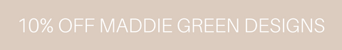Dogdana Co 10% off Maddie Green Designs