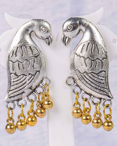 Cute parrot earings