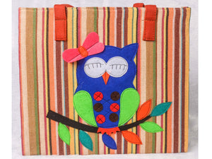 Cute blue owly bag