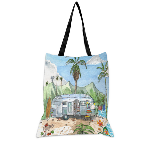 Airstream Paradise - 15x17 Tote Bag
