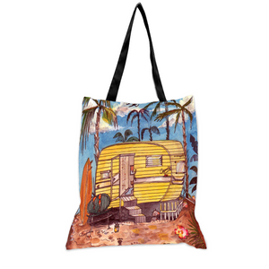 My Trailer Couquette - 15x17 Tote Bag