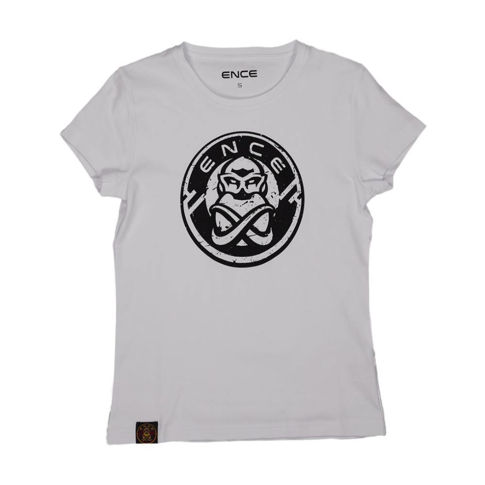 ENCE New Ladies White T-Shirt