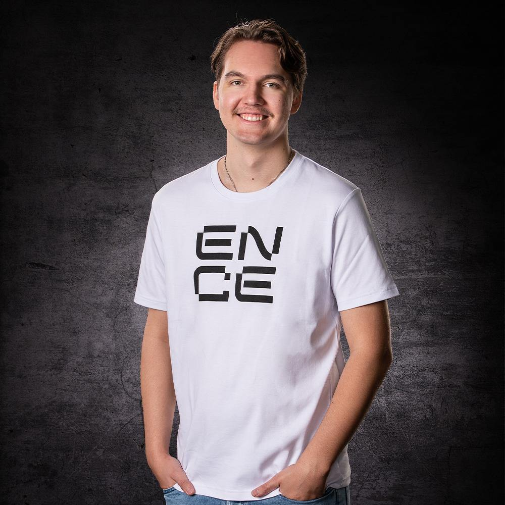 ENCE Square White T-Shirt