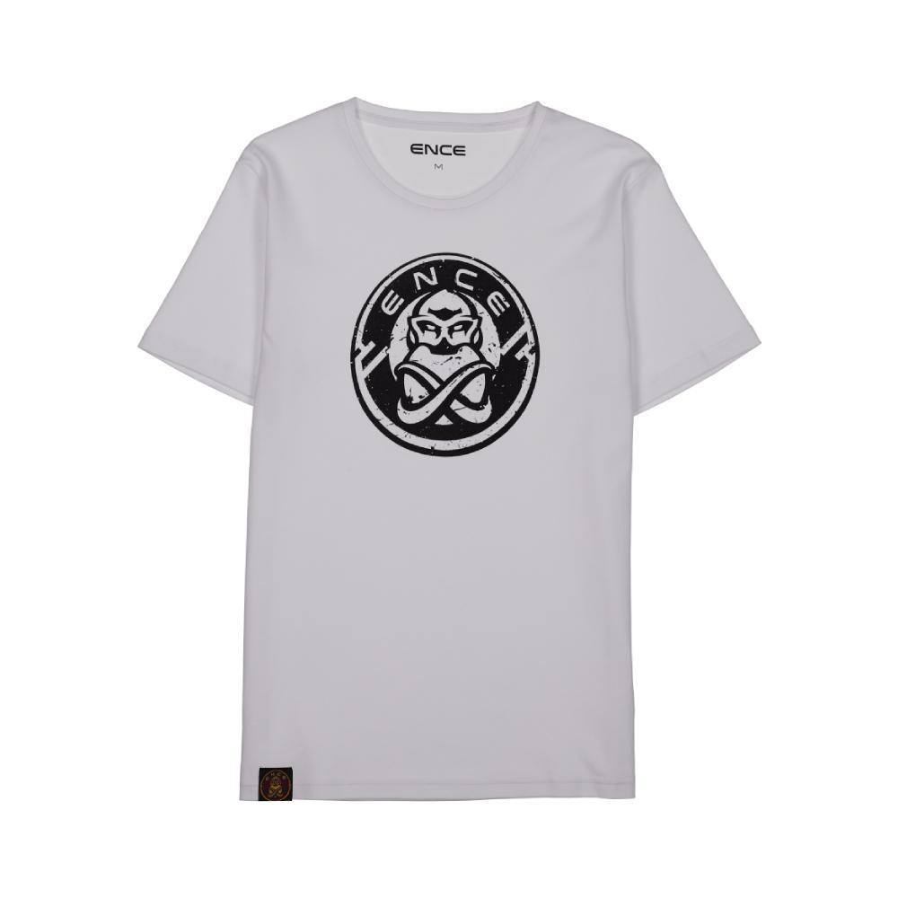 ENCE New White T-Shirt